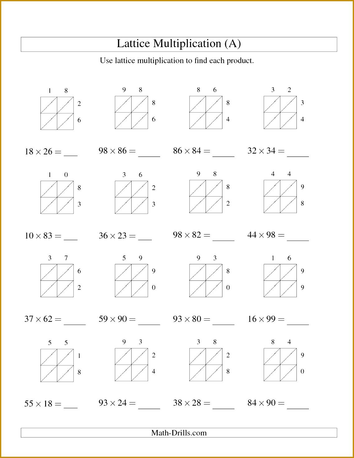 6 Division Worksheets