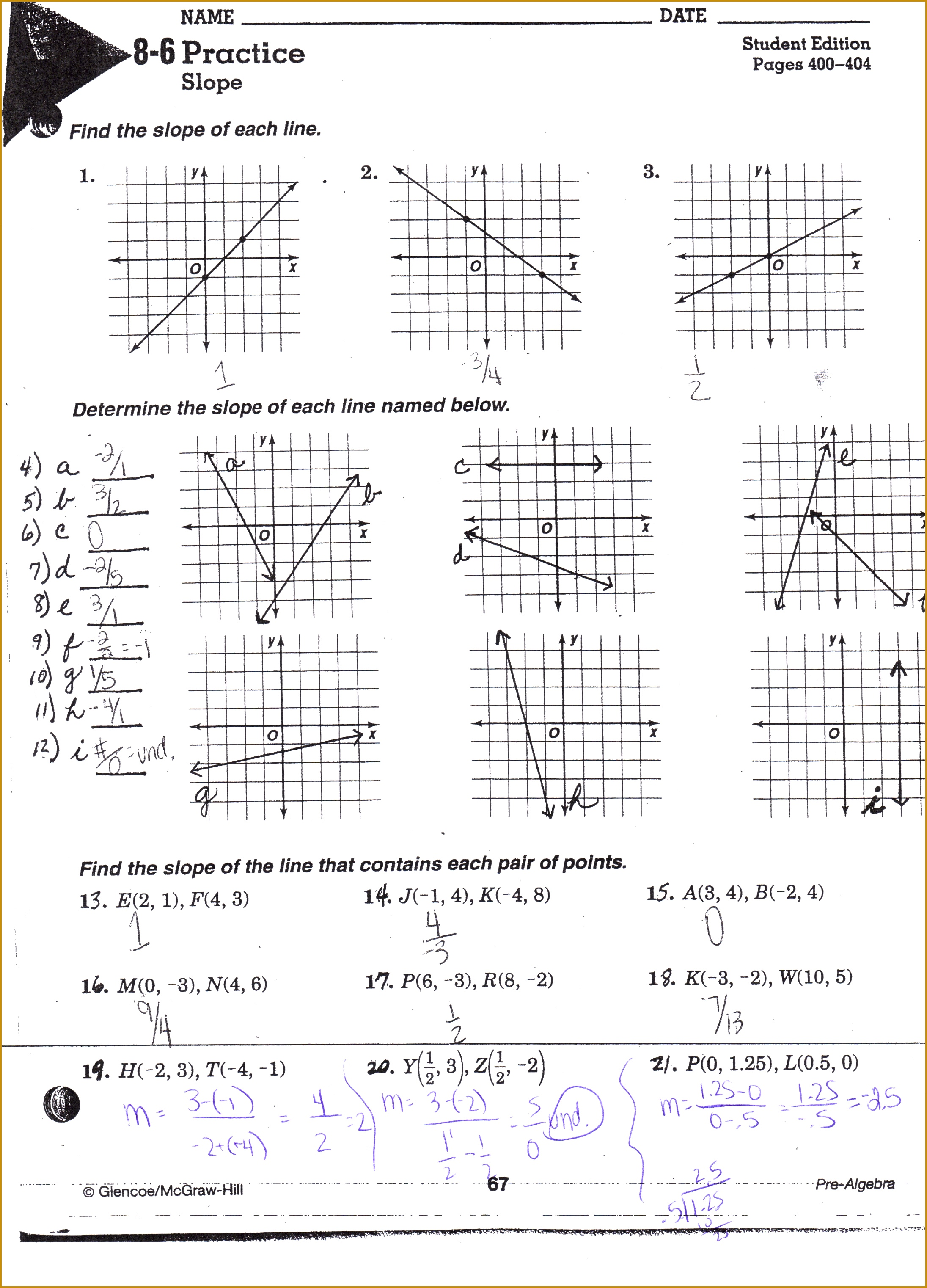 5 Domain And Range Worksheet Answers