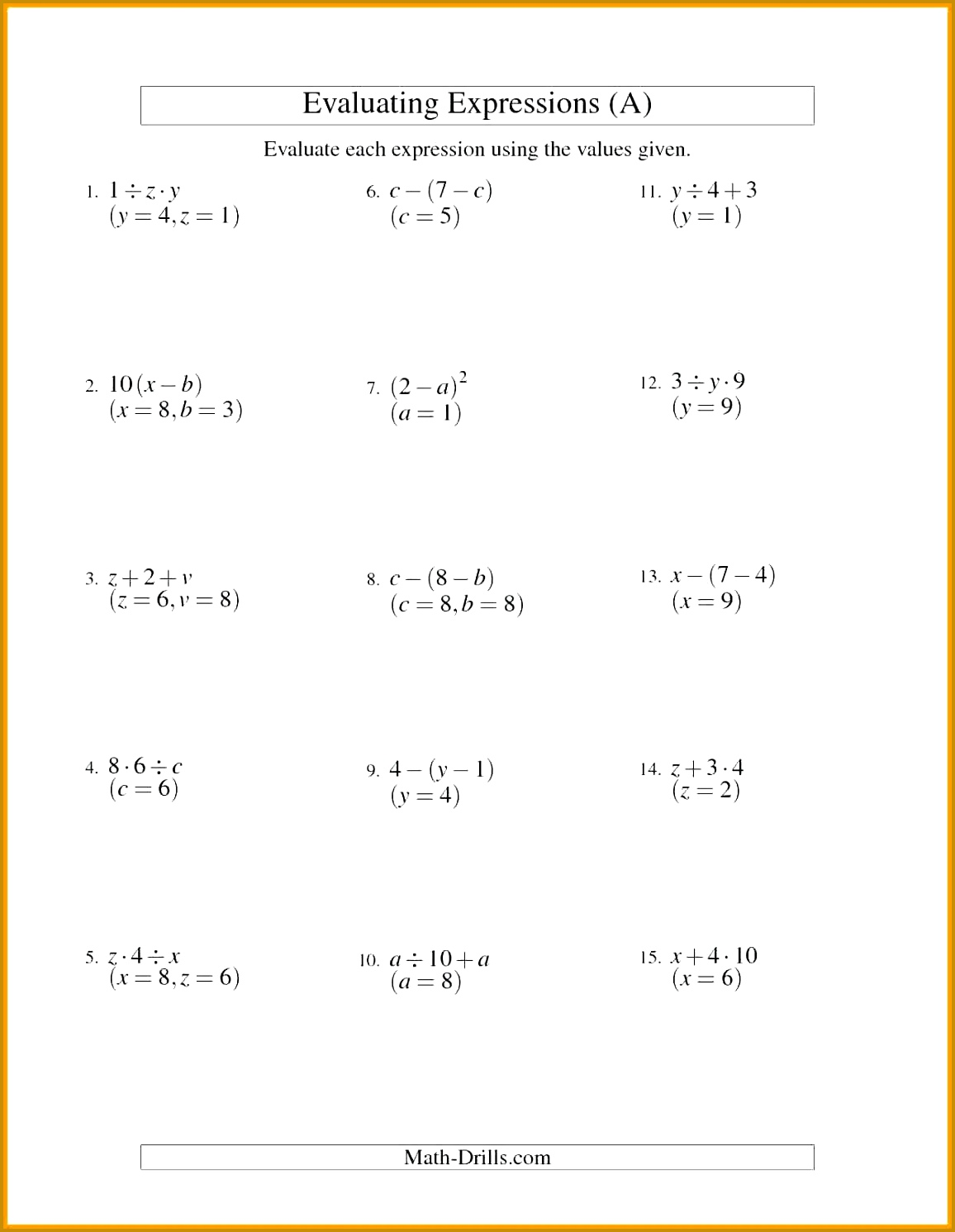 7 Graphing Inequalities Worksheet
