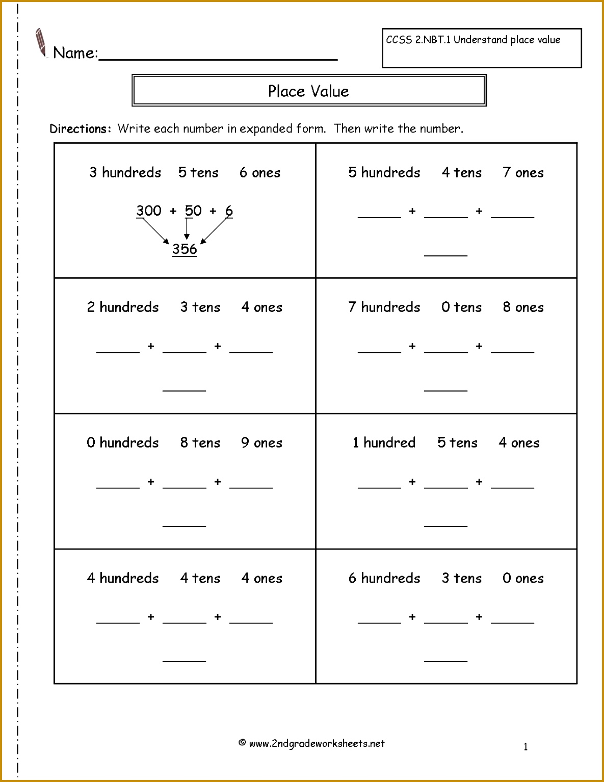 4 Greatest Common Factor Worksheet