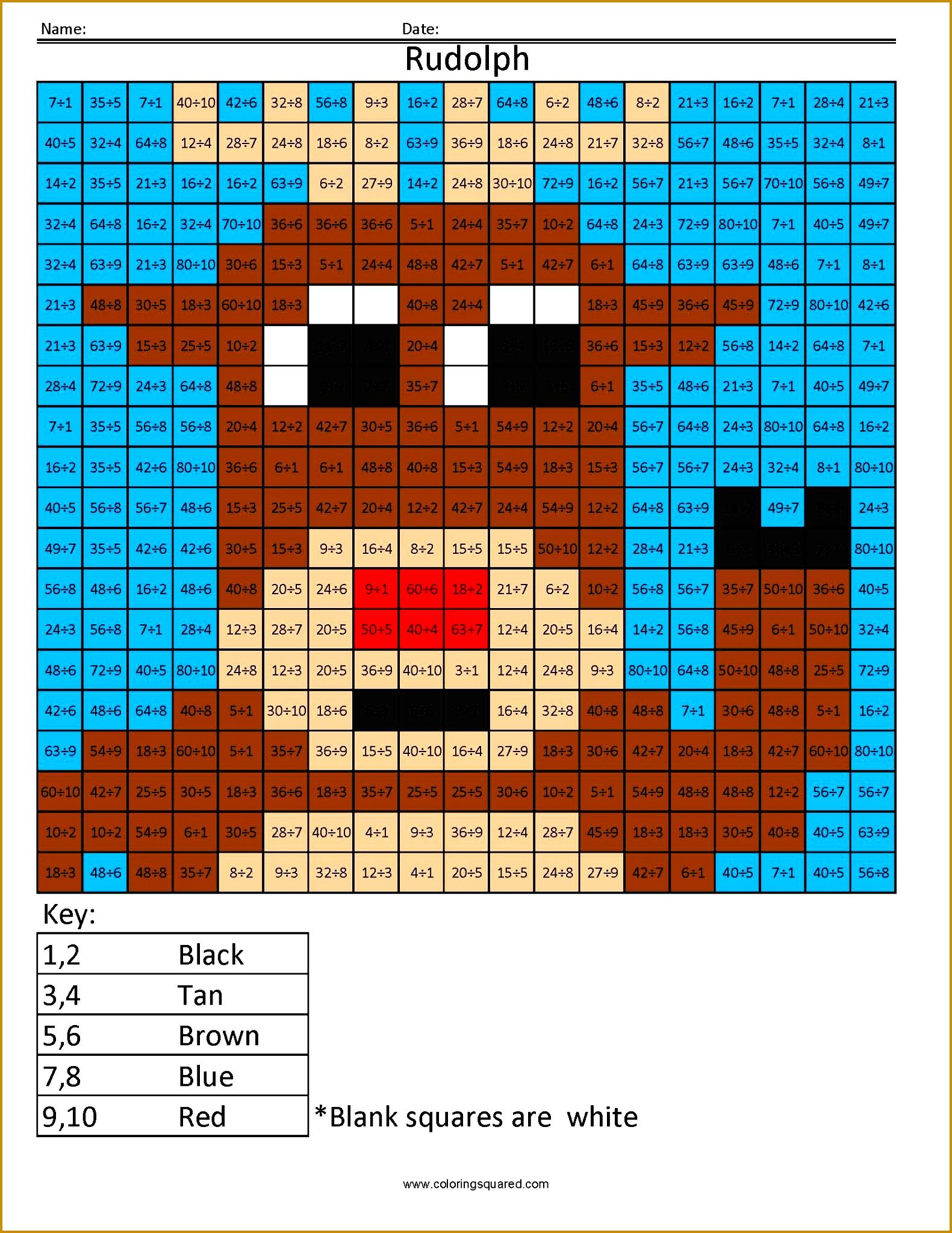 4 Multiplication Worksheet