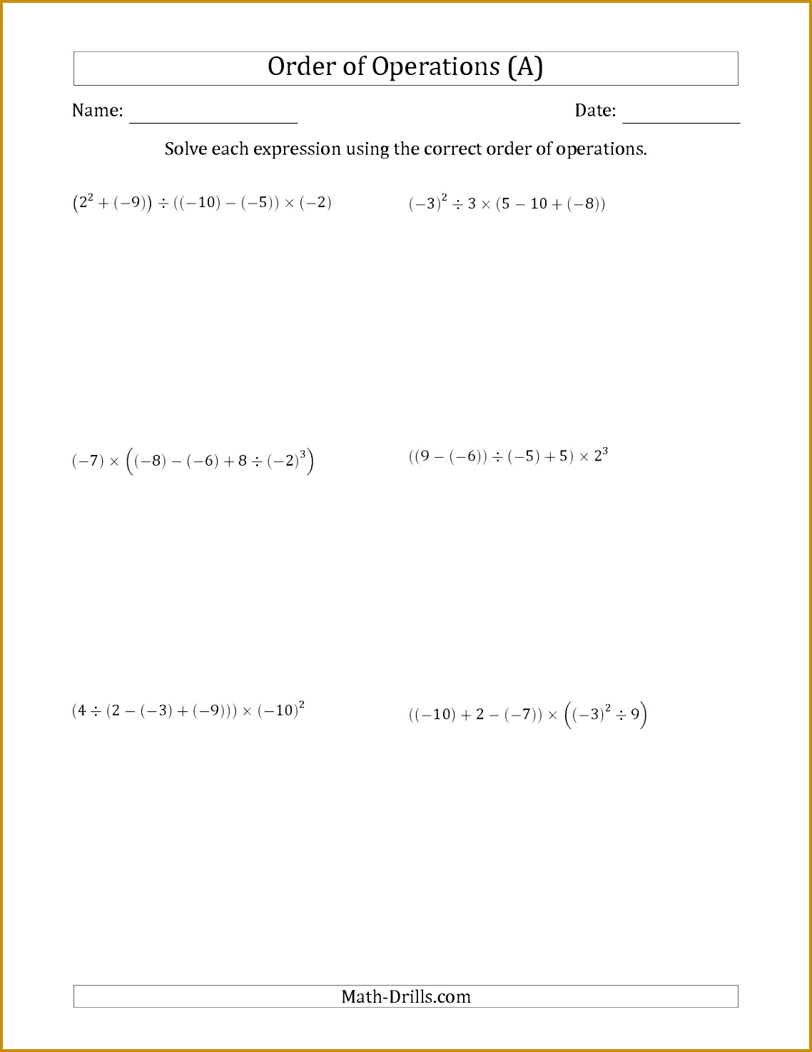6 Scale Factor Worksheet