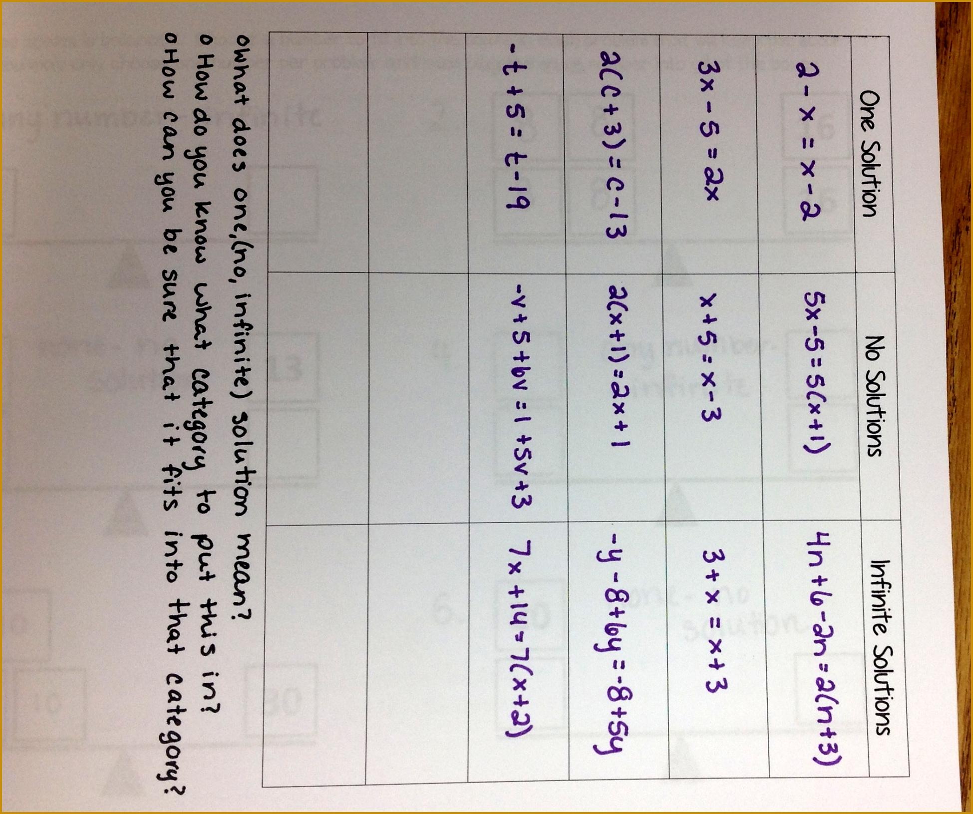 4 Solve By Elimination Worksheet