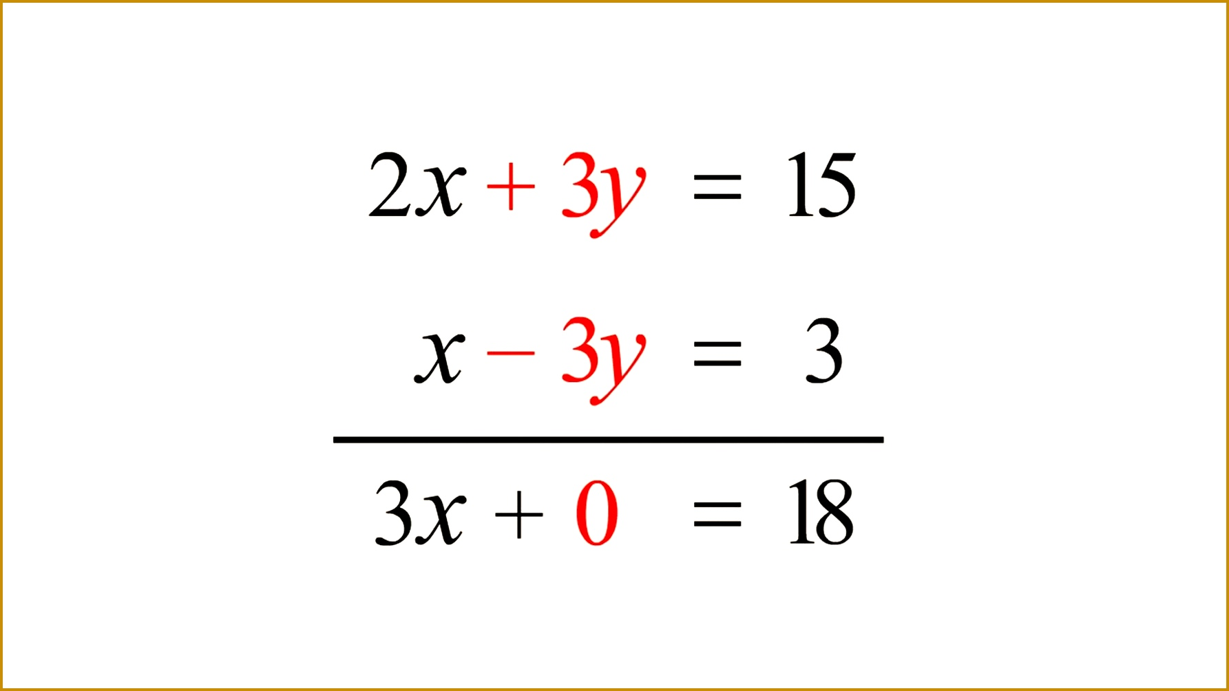 4 Solving Systems Of Equations By Elimination Worksheet