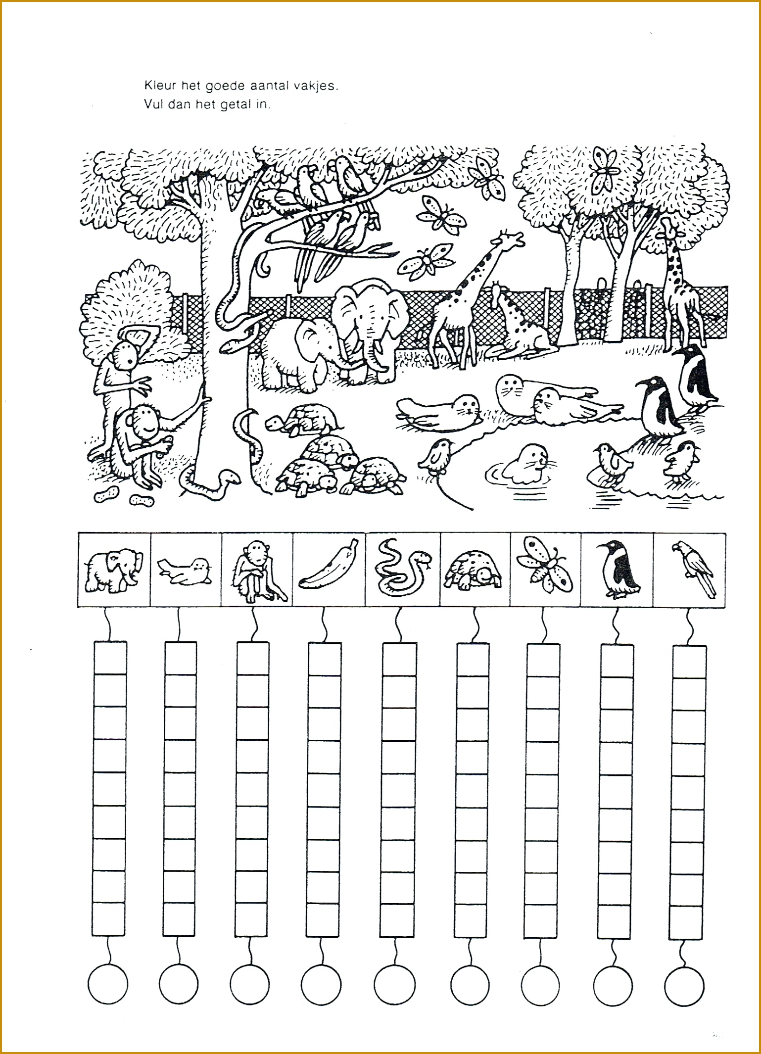 6 Spanish Worksheets