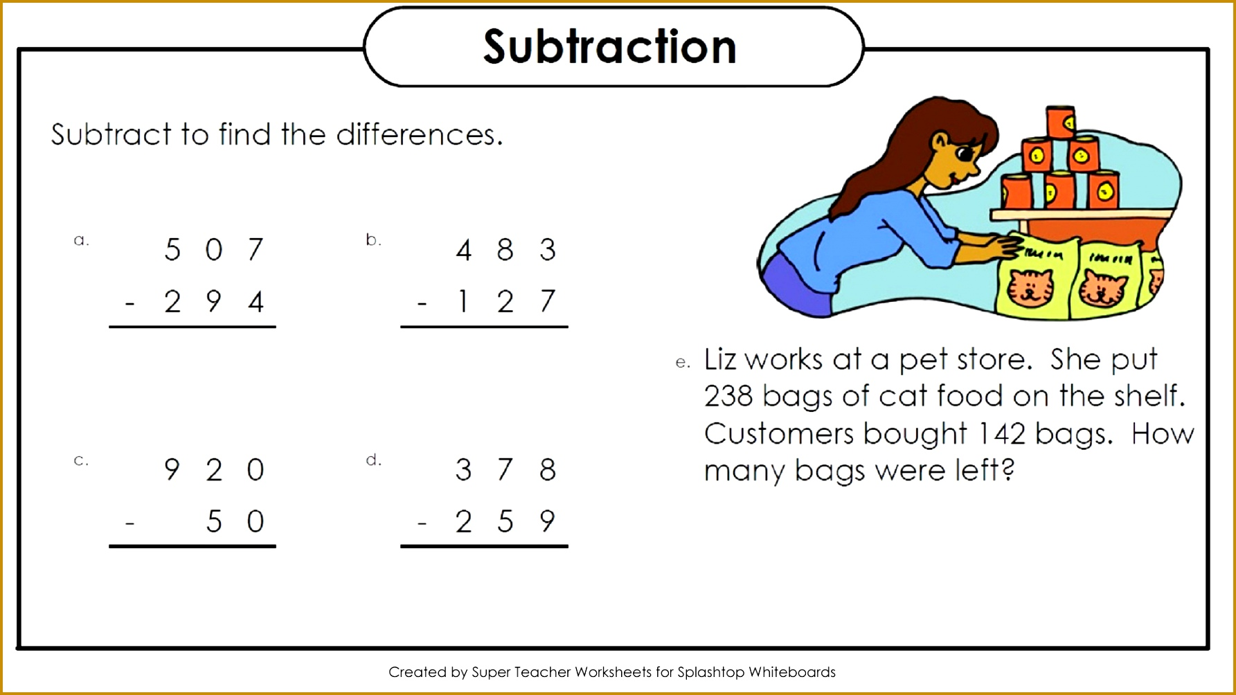 6 Super Teacher Worksheets Multiplication