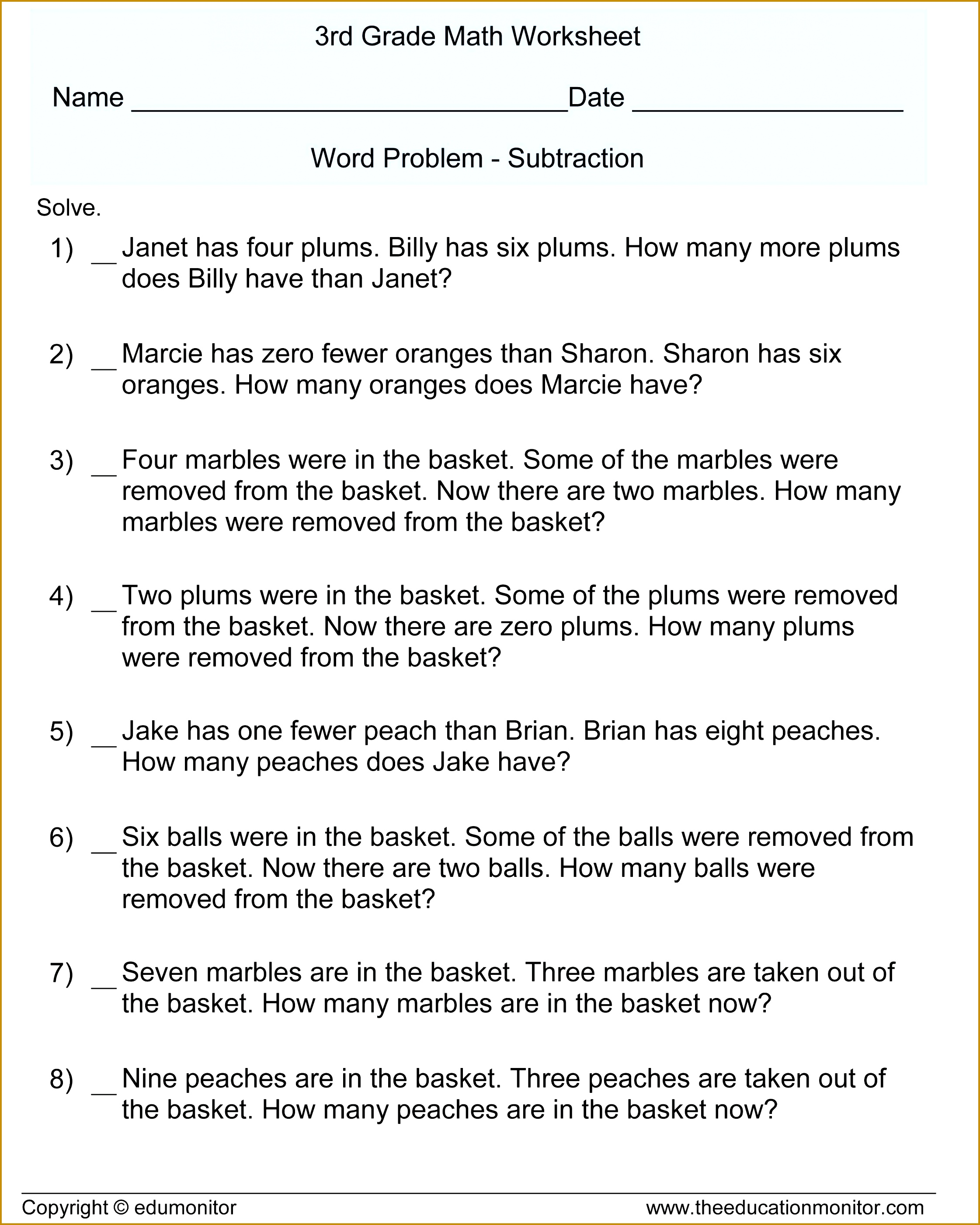 3 Two Step Equations Worksheet