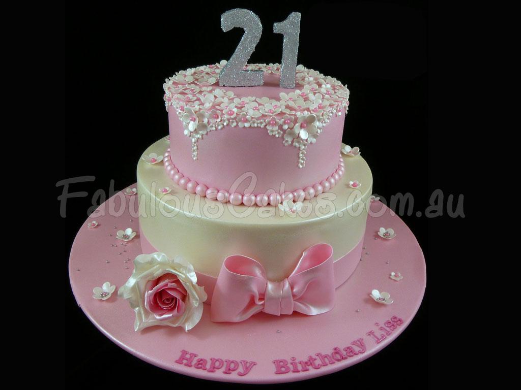 Excellent 21St Birthday Cakes Fabulous Cakes Funny Birthday Cards Online Necthendildamsfinfo