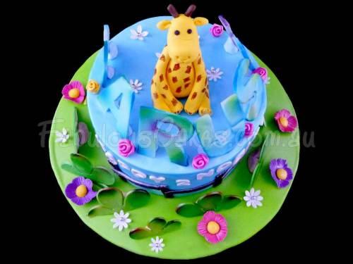 Cute 2nd Birthday Cake