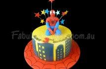 Spider-Man Cakes
