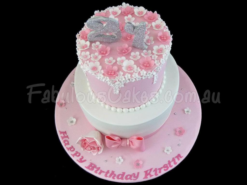 Sensational 21St Birthday Cakes Fabulous Cakes Personalised Birthday Cards Paralily Jamesorg