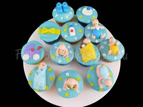 Baby at Water Park Cupcake
