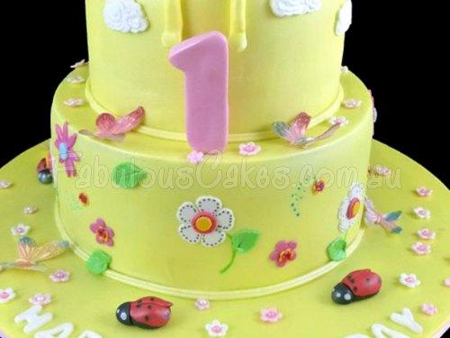 Little Miss Sun Shine Cake