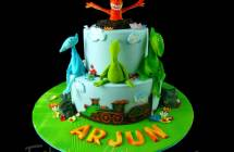 Dinosaur Train Cakes