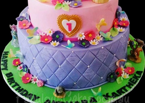 Sofia the First Theme Cake