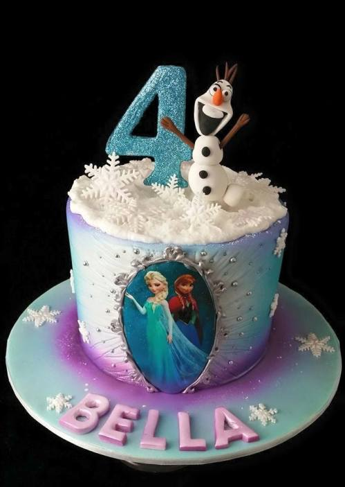 Another Frozen Theme Cake