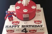 Big Hero 6 Cakes
