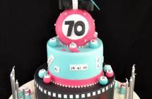 70th Birthday Cakes