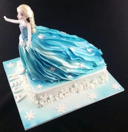 Elsa-From Frozen-Cake