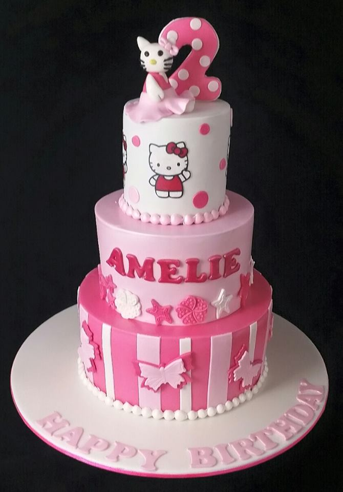 Hello Kitty Cakes Fabulous Cakes