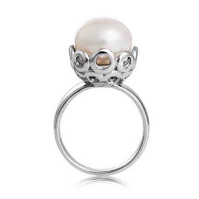 Buy Jersey Pearl Muse Ring M