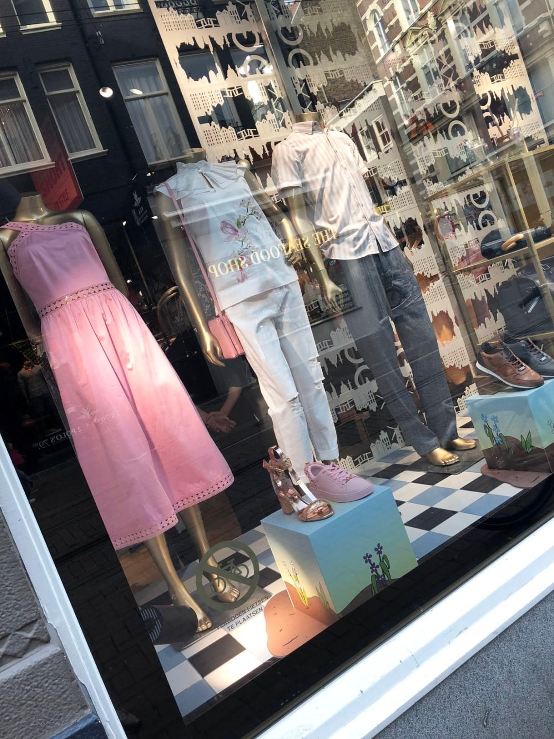 Ted Baker winkel Amsterdam