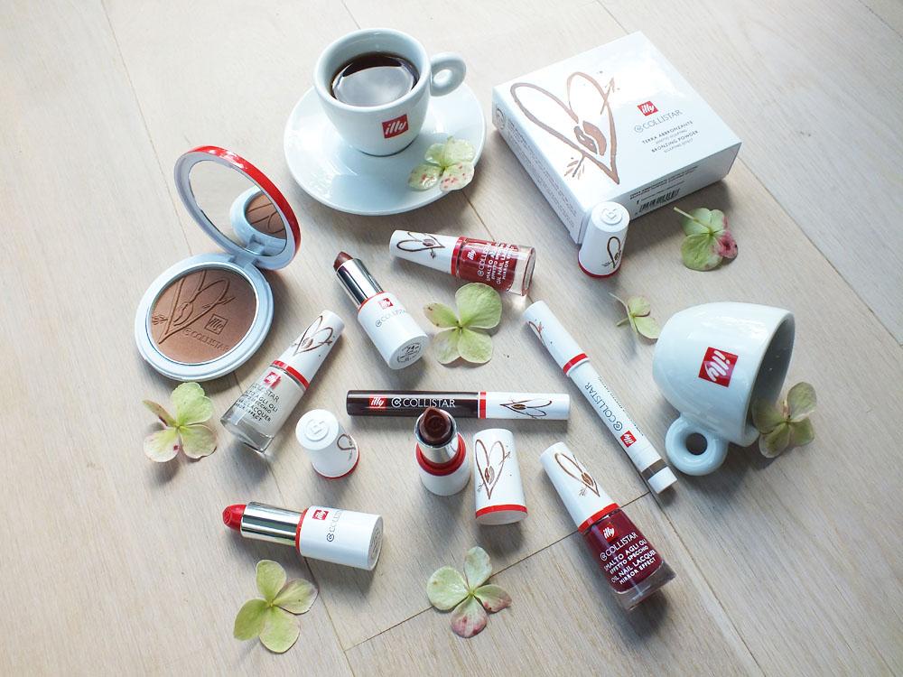 illy en collistar make-up Collezione Caffe