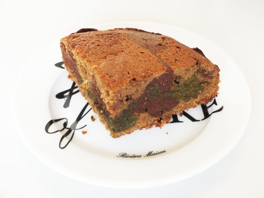 Recept Gezonde Matcha en Cacao cake