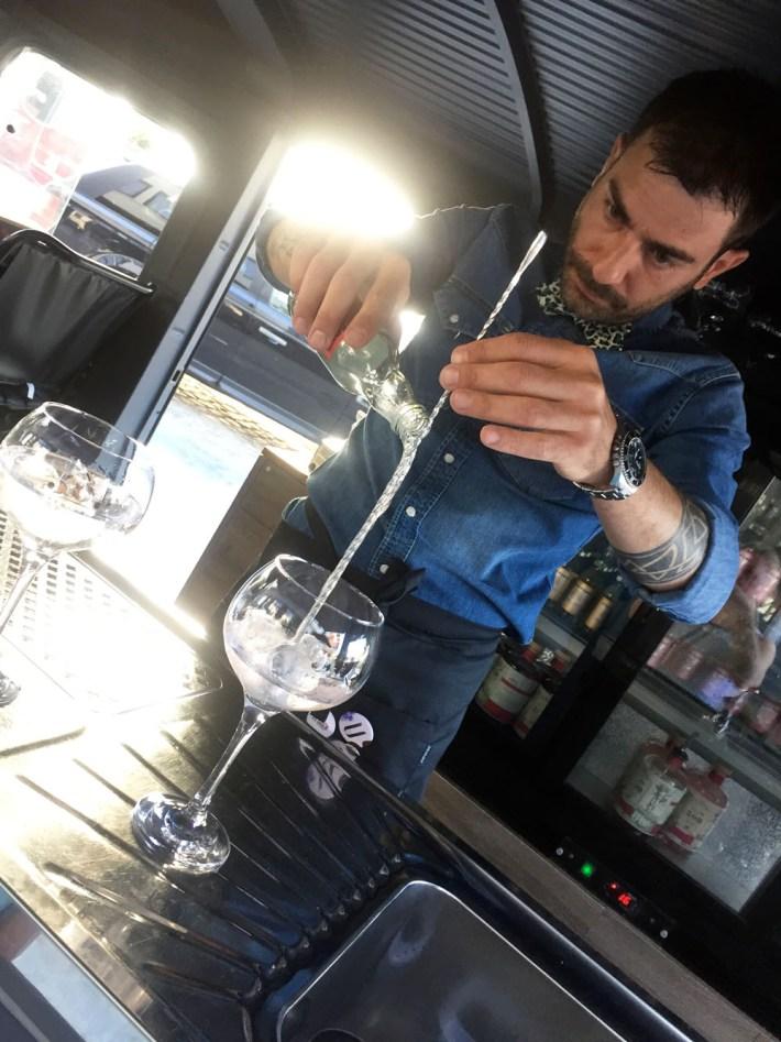 U Antwerp Mas Hotel Eilandjes Antwerpen gin tonic