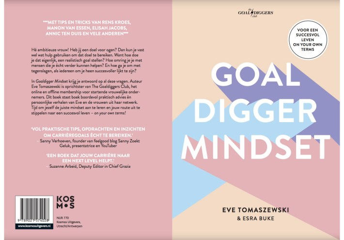 #SundayFunday Boek Goal Digger Mindset