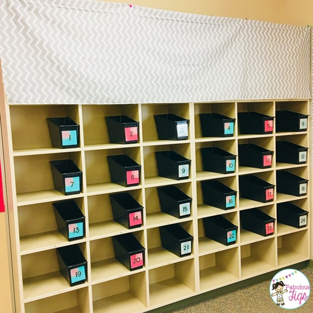 Classroom Tour 2018-2019 Blooming Blossoming Flower Number Labels Bins