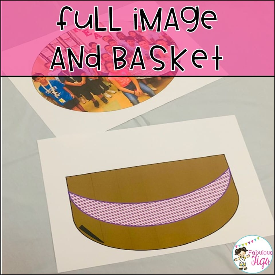 100 day of school Image and Basket