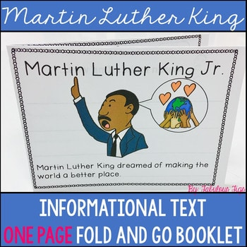 Martin Luther King Fold and Go Booklet