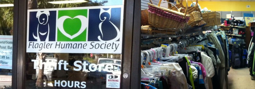 Volunteer at Flagler Humane Society Thrift Store