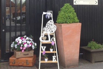 Decorative ladder-Accessory-hire-Fabulous Functions UK