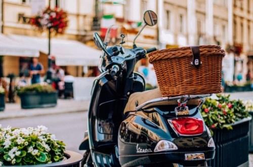 eerste scooter