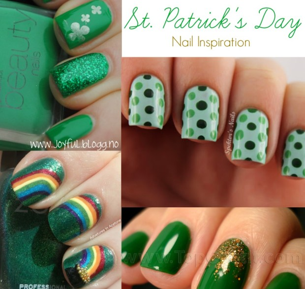 St. Patrick's Day nail inspiration