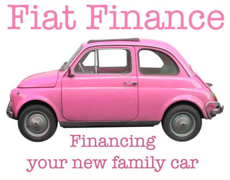 Pink Fiat - Fiat Finance - Financing your new family car
