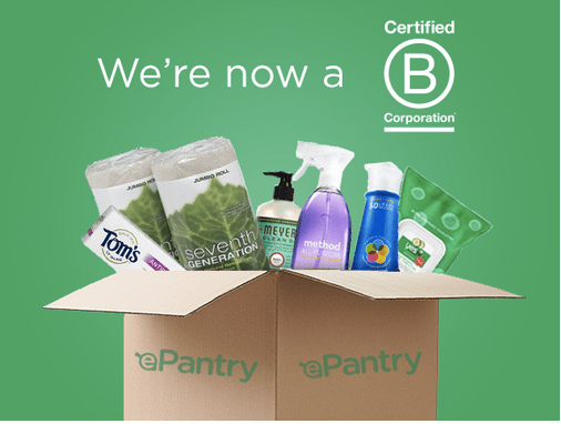 ePantry is a B corp