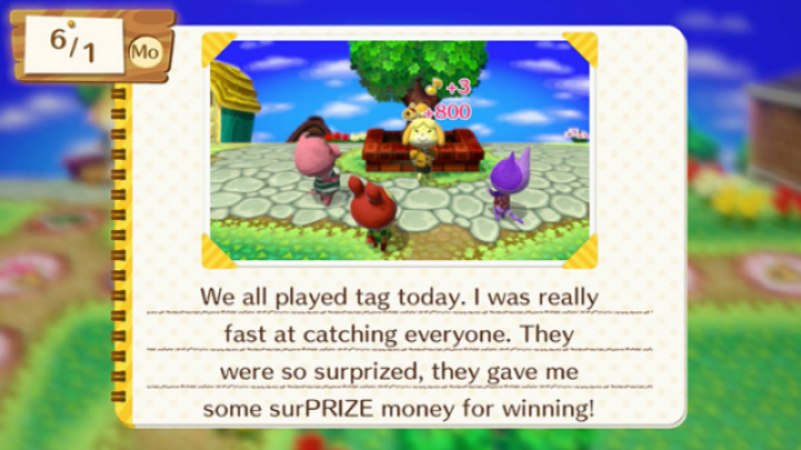 Animal Crossing: amiibo Festival game