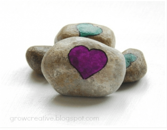 DIY Love Rocks