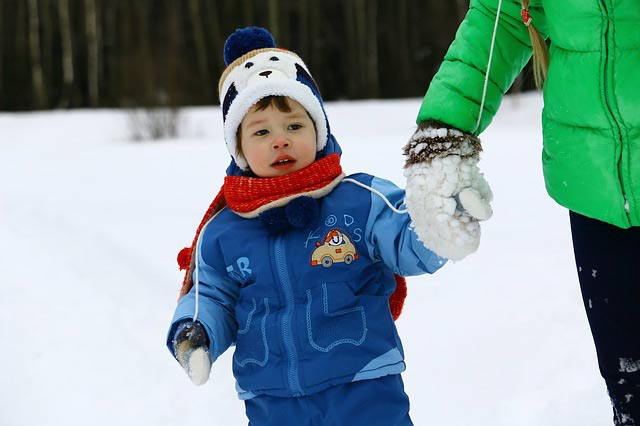winter clothing for children