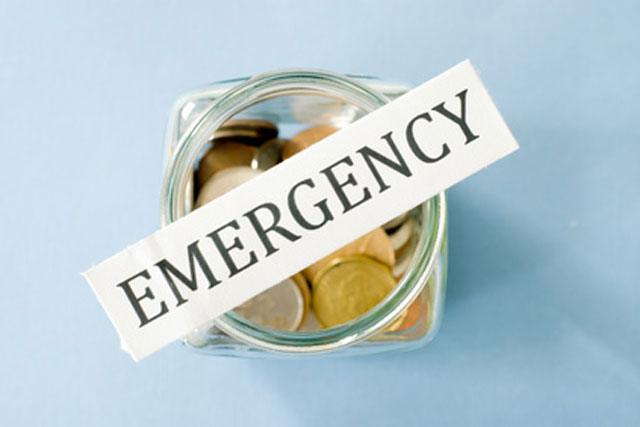 household emergency savings