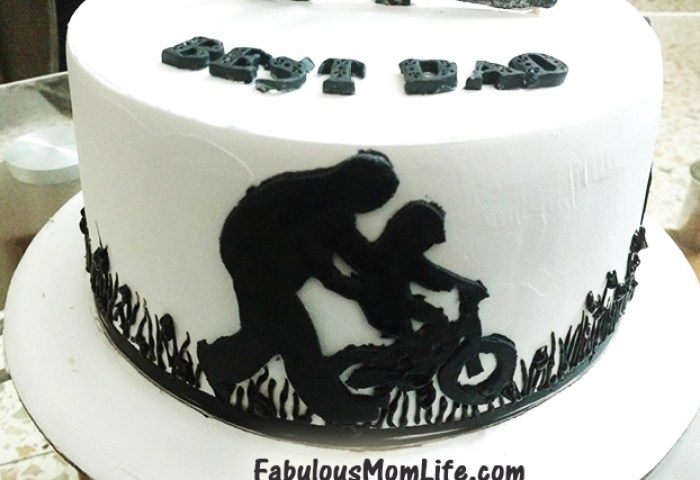 Daddys 40th Birthday Cake And Gift Ideas Fabulous Mom Life