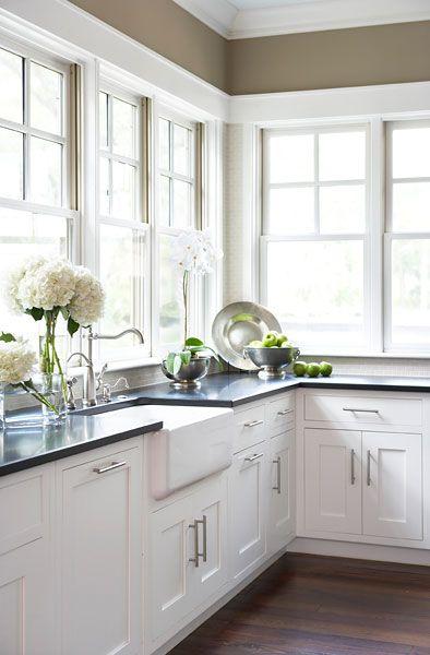 Slate Kitchen Countertops on Farmhouse Countertops  id=83151