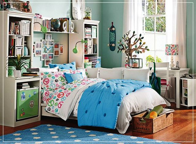 10 Beautiful Art Deco Bedroom Designs on Beautiful Room For Teenage Girl  id=29775
