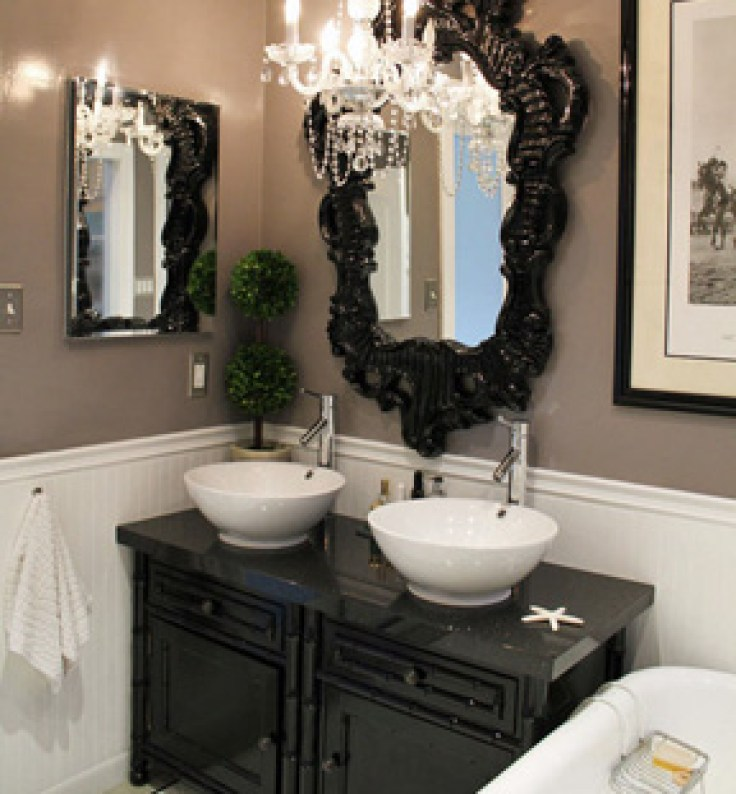 Elegant Bathrooms: Unique Ways Of Decorating The Small Bathroom