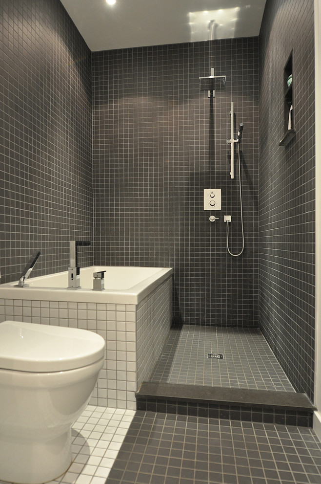 10 Wet Room Designs for Small Bathrooms on Small Area Bathroom Ideas  id=12622