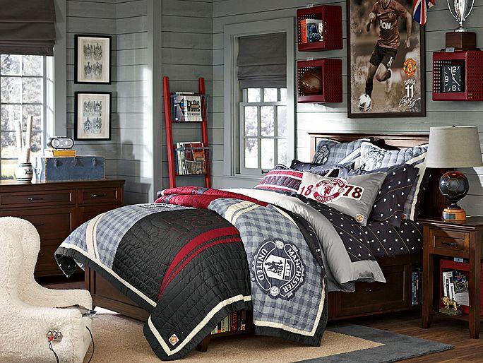 Ideas for Boys Teenage Bedroom on Teenage Room Colors For Guy's  id=61475