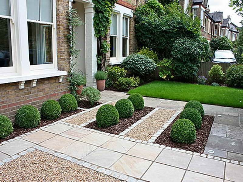 Landscaping ideas for your small front gardens on Landscape Garden Designs For Small Gardens id=99488